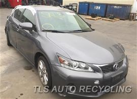 2013 Lexus CT 200H Parts Stock# 9296BK
