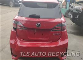 2014 Lexus CT 200H Parts Stock# 9847BL