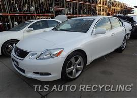 Parting Out Stock# 7549YL 2007 Lexus Gs350