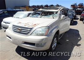 Parting Out Stock# 7208RD 2003 Lexus Gx470