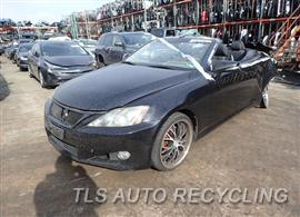 Parting Out Stock# 8030BL 2010 Lexus Is250