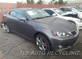Parting Out Stock# 00347W 2012 Lexus Is250