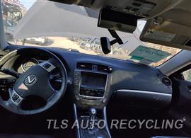 2013 Lexus IS 250 Parts Stock# 10737G