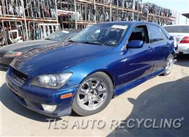 Parting Out Stock# 7358GR 2001 Lexus Is300