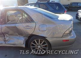2004 Lexus IS 300 Parts Stock# 7600BR