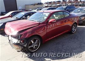 Parting Out Stock# 7448GR 2010 Lexus Is350