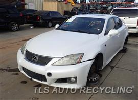 Parting Out Stock# 7007YL 2008 Lexus Is F