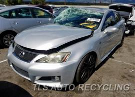 Parting Out Stock# 00283B 2008 Lexus Is F