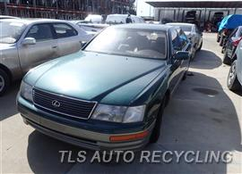 Parting Out Stock# 7155BL 1996 Lexus Ls400