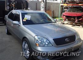 2002 Lexus LS 430 Parts Stock# 6409PR