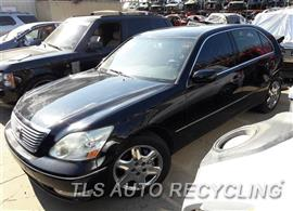 Parting Out Stock# 7372RD 2004 Lexus Ls430