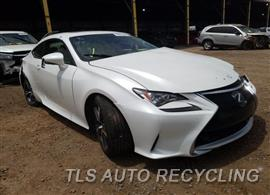 Parting Out Stock# 00402B 2017 Lexus Rc200t