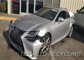 Parting Out Stock# 00105R 2015 Lexus Rc350