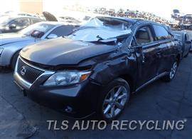 Parting Out Stock# 8540PR 2010 Lexus Rx350