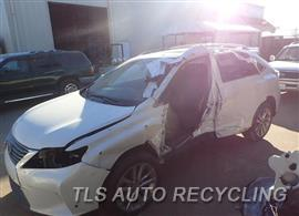 Parting Out Stock# 8096GR 2015 Lexus Rx350