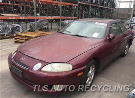 Parting Out Stock# 9413BK 1997 Lexus Sc400