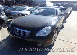 Parting Out Stock# 7040BR 2002 Lexus Sc430