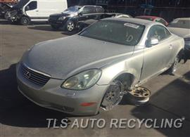 Parting Out Stock# 9647BK 2002 Lexus Sc430