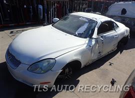 Parting Out Stock# 8090PR 2004 Lexus Sc430
