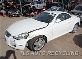 Parting Out Stock# 8092RD 2004 Lexus Sc430