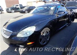 Parting Out Stock# 7356GY 2005 Lexus Sc430