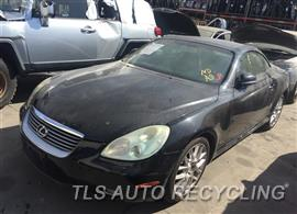 Parting Out Stock# 9537YL 2005 Lexus Sc430