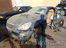 Parting Out Stock# 7546BR 2007 Lexus Sc430
