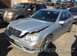 Parting Out Stock# 9112GR 2006 Mercedes C230