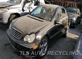 Parting Out Stock# 9763PR 2006 Mercedes C230