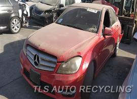 Parting Out Stock# 9724GR 2012 Mercedes C250