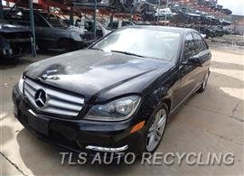 Parting Out Stock# 7049BR 2013 Mercedes C250