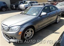 Parting Out Stock# 7378YL 2008 Mercedes C300