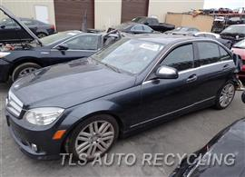 Parting Out Stock# 7425BK 2009 Mercedes C300