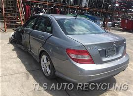 Parting Out Stock# 9316BL 2010 Mercedes C300