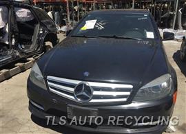 2011 Mercedes C300 Parts Stock# 9398GY
