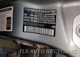 2008 Mercedes C350 Parts Stock# 10880O