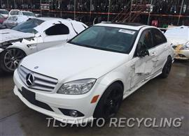 Parting Out Stock# 9097PR 2010 Mercedes C350