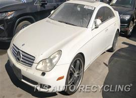 Parting Out Stock# 00121G 2007 Mercedes Cls550