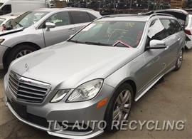 Parting Out Stock# 8678BL 2011 Mercedes E350