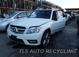 Parting Out Stock# 8020RD 2011 Mercedes Glk350