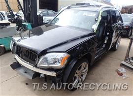Parting Out Stock# 8134YL 2012 Mercedes Glk350
