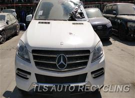 Parting Out Stock# 00405P 2015 Mercedes Ml250