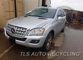 Parting Out Stock# 8149BR 2011 Mercedes Ml350