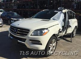 Parting Out Stock# 9101GY 2013 Mercedes Ml350