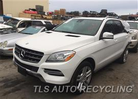 Parting Out Stock# 9019BL 2014 Mercedes Ml350