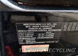 2009 Mercedes ML550 Parts Stock# 10082O