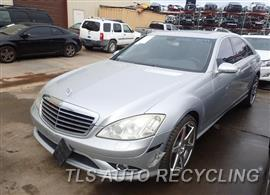 Parting Out Stock# 8154BK 2007 Mercedes S550