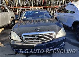 Parting Out Stock# 10002G 2007 Mercedes S550