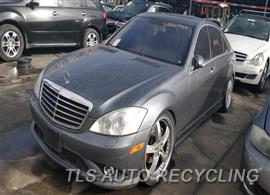 Parting Out Stock# 00019O 2008 Mercedes S550