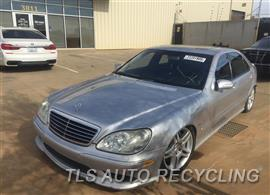 Parting Out Stock# 9079PR 2003 Mercedes S55